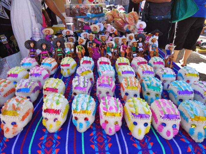 "There's a Day of the Dead festival in Oceanside every year, and no, it's not a convention of the Walking Dead or related to Halloween at all, as you might think. The Day of the Dead is a Mexican celebration of life and a mocking of death. Aztec beliefs fused with that of their conquerors have made this day one full of symbolism, both pagan and Catholic at the same time. It is shouting in death's face: ""You might have taken our loves ones, but they are not forgotten."" And so we celebrate, dance, make altars for the departed, eat, and rejoice in the triumph over death brought by the Resurrection of Jesus Christ."