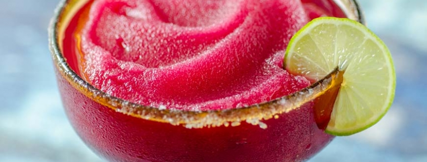 This recipe for frozen prickly pear margarita is the perfect drink to cool down. The combination of tequila prickly pear fruit, and orange liqueur is irresistible