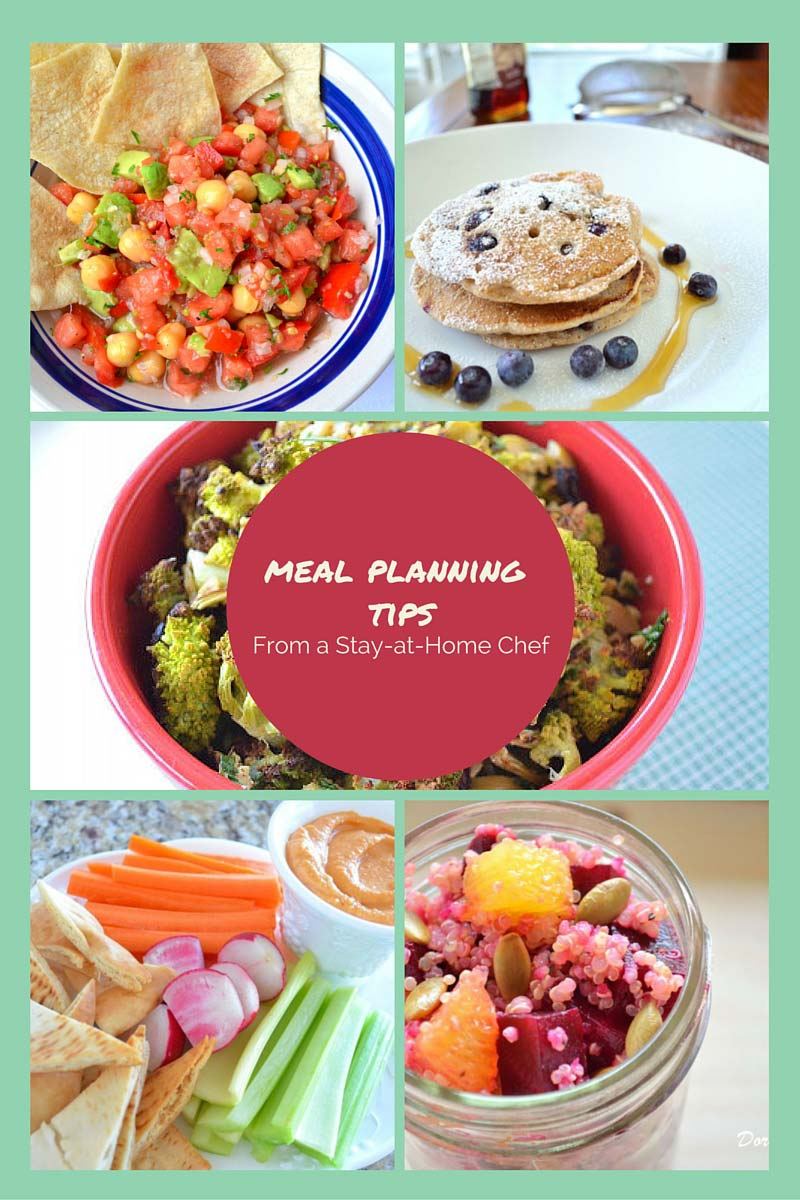 Meal planning tips - How I do it. Find a system that works best for your family and make your life a little easier.