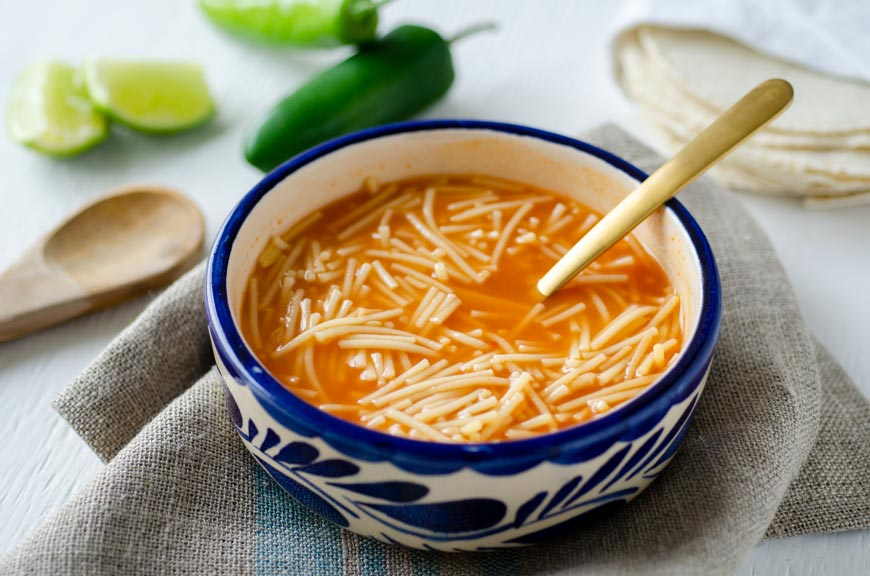 How To Make Sopa De Fideo Dora S Table