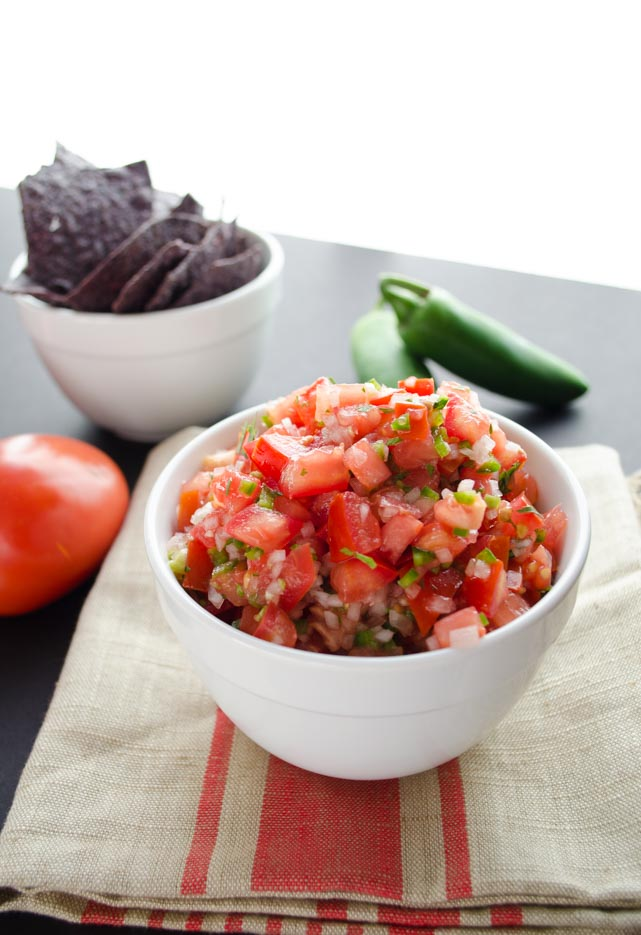 A fresh salsa so easy to make.