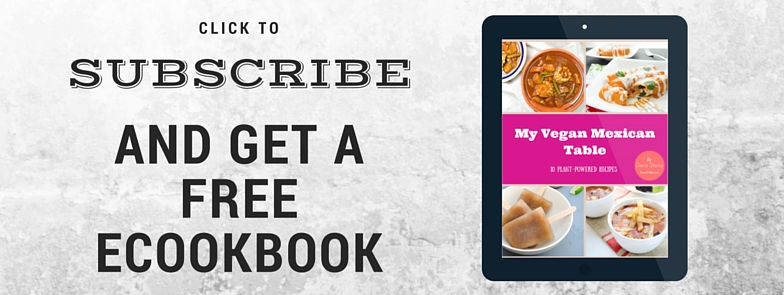 Subscribe and get a free cookbook