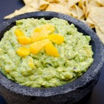 garlic orange guacamole
