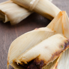 Vegan Potato Adobo Tamales