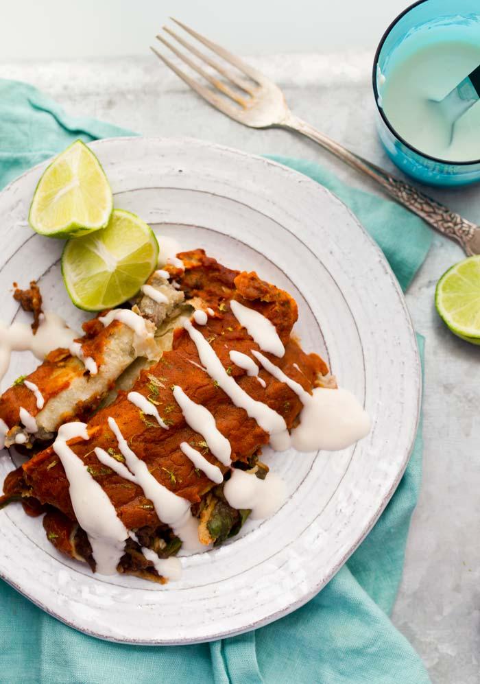 18 Vegan Enchiladas
