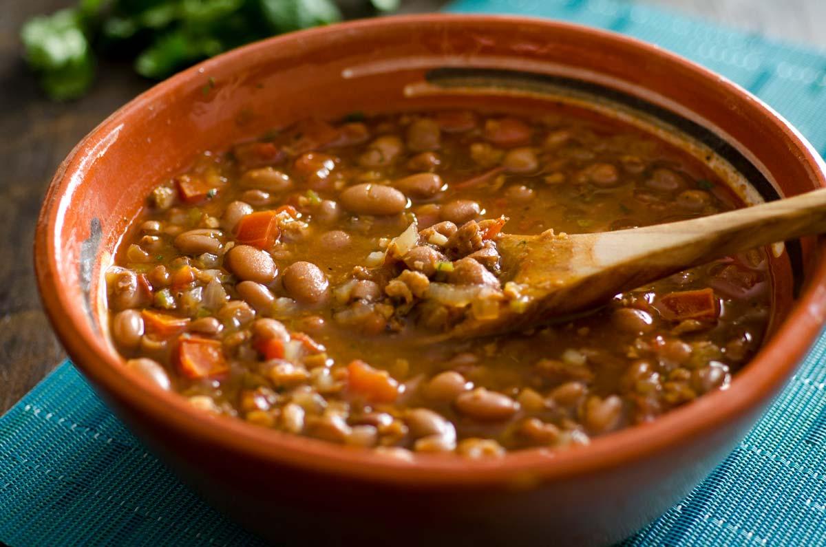 Vegan Frijoles Charros Recipe (Mexican Cowboy Beans ...