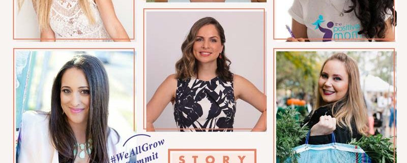 This week I will be at #weallgrow summit storyteller and I can't wait! I am grateful and honored to be a part of this.