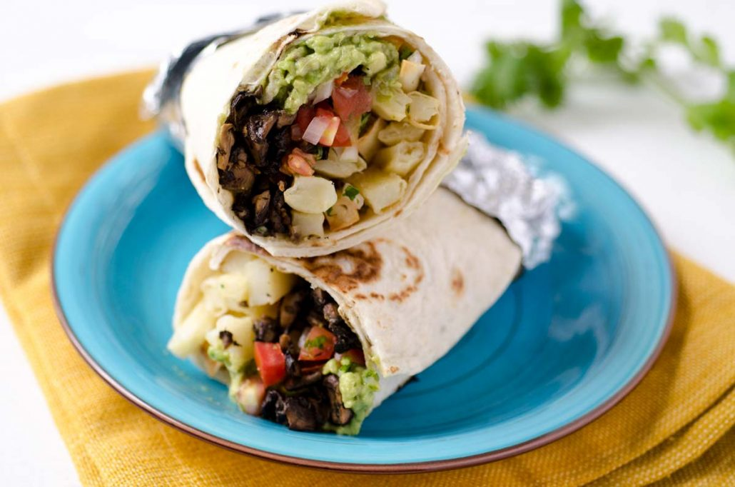 Image result for burrito vegan