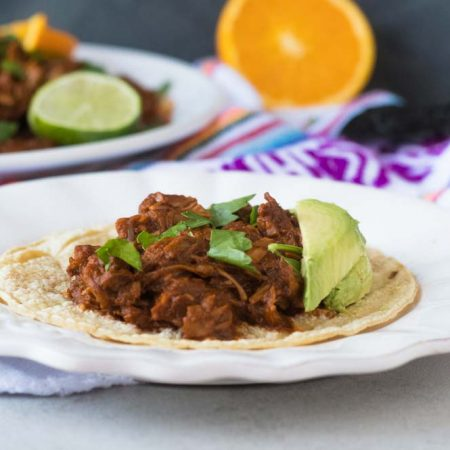 Jackfruit Chilorio is a popular recipe from the state of Sinaloa. It is traditionally made with pork, but this version uses jackfruit instead
