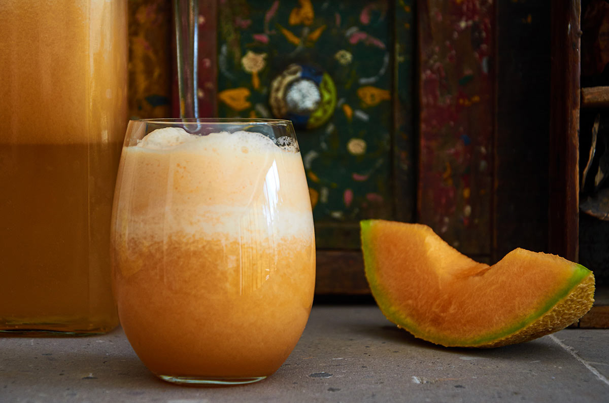 Enjoy this refreshing agua de melon, which is easy to prepare, delicious and the prefect treat for a super hot day.