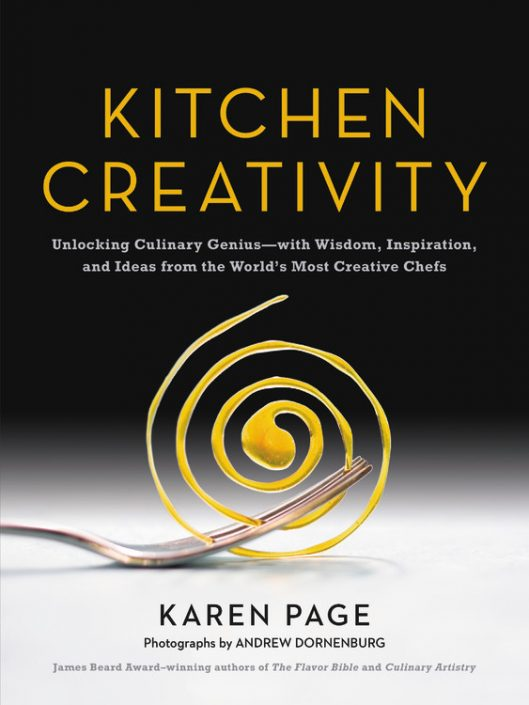 Kitchen Creativity review, my thoughts and opinions on Karen Page and Andrew Donenburg's new book on unlocking your creativity in the kitchen