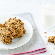 These piloncillo almond butter oatmeal cookies are the perfect sweet treat, and they just so happen to be vegan too. So what makes these almond butter oatmeal cookies so special? I'm glad you asked. This is one of my favorite recipes from my childhood